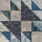 The Goose and Goslings quilt block