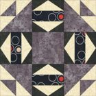 Joseph's Coat quilt block design