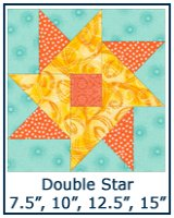 Double Star quilt block tutorial