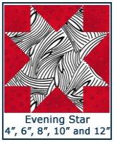 Evening Star quilt block tutorial