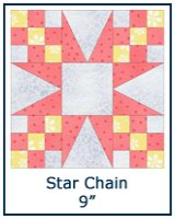 Star Chain quilt block