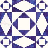 Click here to go to instructions to make a Storm at Sea quilt block