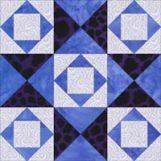 South Carolina Star quilt block