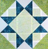 Morning Star quilt block