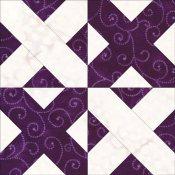 Pennsylvania Crossroads quilt block design