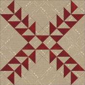 Pennsylvania Pineapple quilt block design