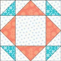 The Cypress quilt block
