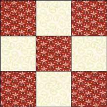Irish Chain Quilt Pattern Single Double And Triple Irish