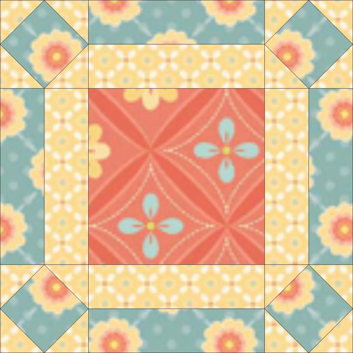 The Broken Wheel quilt design