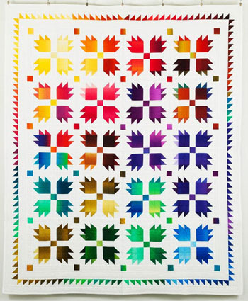Bear Paw quilt kit available from Craftsy.com
