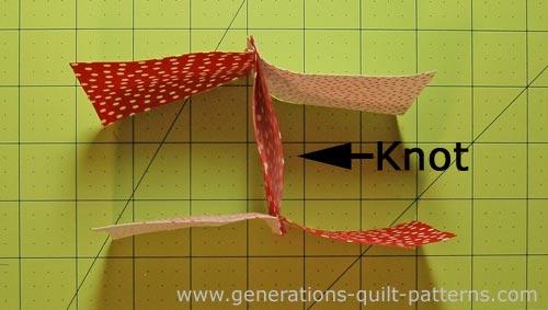 3d Bow Tie Quilt Block Multi Size Instructions