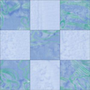 Nine-patch block design