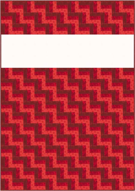 Rail fence quilt pattern designs easy beginner