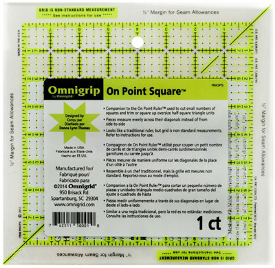 On-Point square ruler