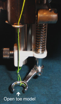 Open Toe Darning or Quilting Foot