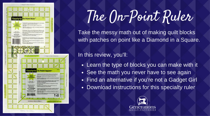 On-Point Ruler review...