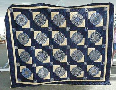 Amanda's finished quilt<br />