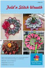 Fold-N-Stitch Wreath pattern