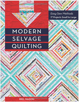 Modern Selvage Quilting Book