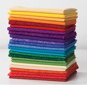 Quilter's Candy Color Wheel Fat Quarter Sampler
