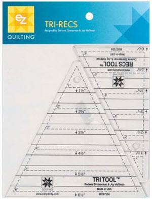 Affiliate link to Amazon.com for Tri Recs Ruler