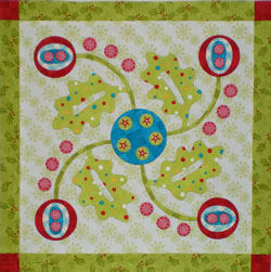 This applique was stitched by machine...<br><br>Click on each thumbnail below for a larger image<br><br>
