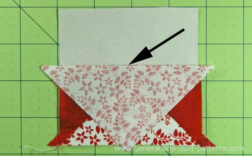 Arrowhead Quilt Block Illustrated Step By Step Tutorial