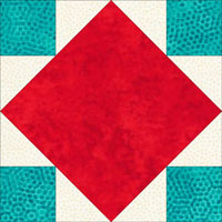 Alternate Art Square quilt block coloring
