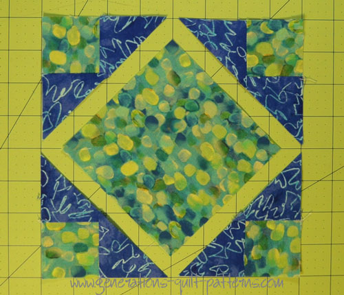 Art Square Quilt Block: Tutorial in 4 sizes : square quilt - Adamdwight.com