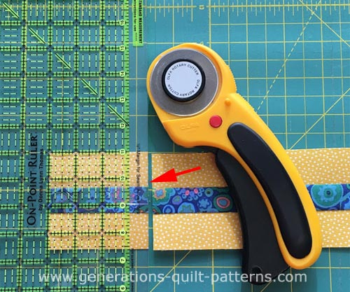 Subcut with your On-Point ruler