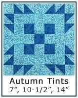Autumn Tints quilt block tutorial