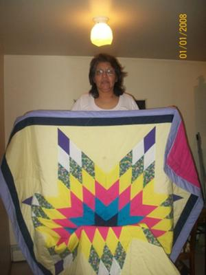 I just love Lone Star quilts!<br /><br />(Click on the thumbnail images below for a larger picture.)<br /><br />