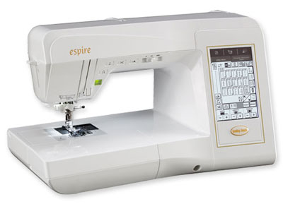The Babylock Espire is part of the Quilter's Dream series<br /><br />