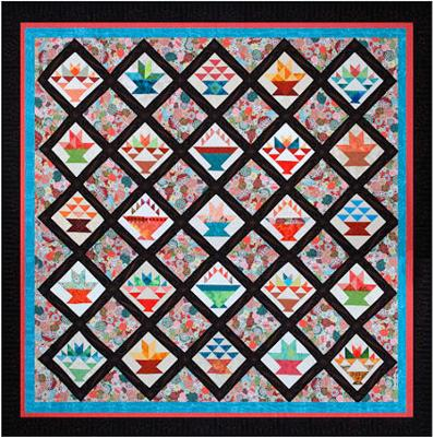 "Baltimore Heritage Quilters 2011 Raffle Quilt<br >98"" x 98""<br />(Click each thumbnail below for a larger image)<br /><br />"