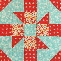Baton Rouge quilt block tutorial