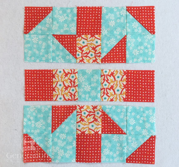 Baton Rouge Quilt Block Instructions 5 Quot 7 1 2 Quot And 10