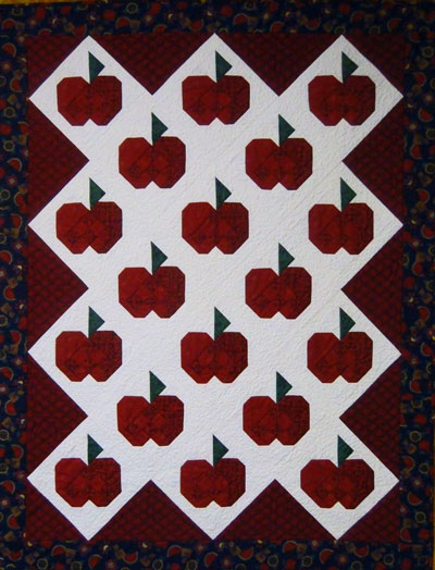 A beginning free motion quilting project