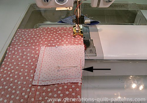Stitch remainder of your first seam