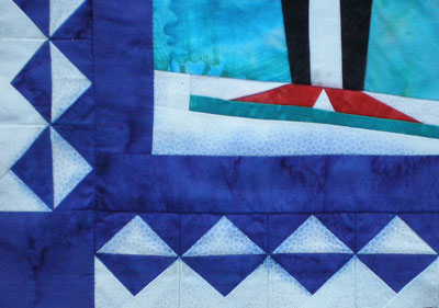 The Sad Little Penguin Quilt A Tale About Bleeding Fabric
