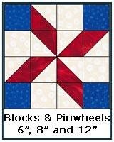 Blocks and Pinwheels quilt block tutorial