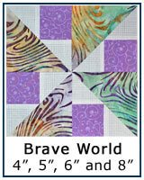 Brave World quilt block tutorial - TRADITIONAL PIECING