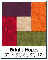 Bright Hopes quilt block tutorial
