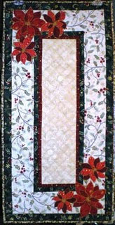 Broderie Perse Tablerunner by Reeze Hanson
