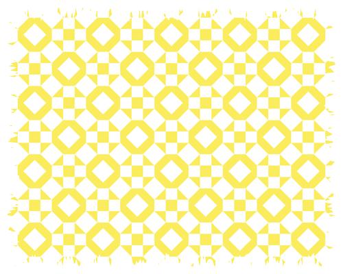 Antique quilt design