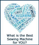 Go to the Best Sewing Machine for Quilting is...