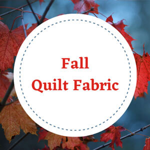 New 2021 Fall Quilt Fabrics to choose from