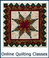 Go to online quilting class