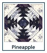 Pineapple quilt designs