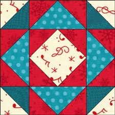 Canadian Gardens quilt block