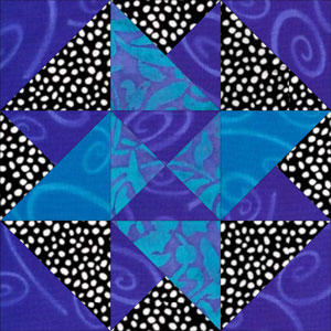 Card Trick Quilt Block from our Free Quilt Block Pattern Library : card trick quilt block - Adamdwight.com